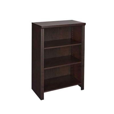 Closetmaid Impressions 14 57 In X 25 In Chocolate Laminate 4 Shelf Organizer 30831 The Home Depot Shelf Organization Closetmaid Wood Closet Systems