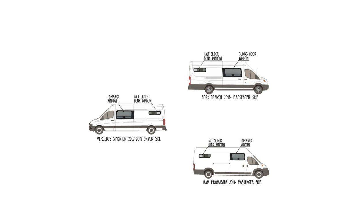 Aftermarket Window Installation For Diy Van Conversion Heading Van Conversion Build Diy Van Conversions Van Conversion