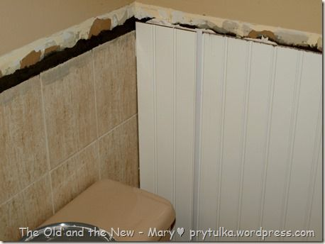 Pin By Carly Jane On How To Bathroom Wall Coverings Bathroom Wall Tile Bathroom Tile Diy