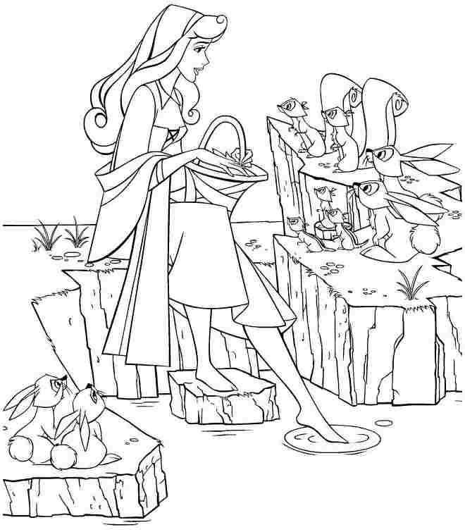 Free Disney Princess Sleeping Beauty Aurora Coloring Pages For ...