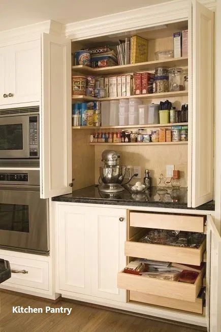 Kitchen Pantry Cabinets #pantrycabinet