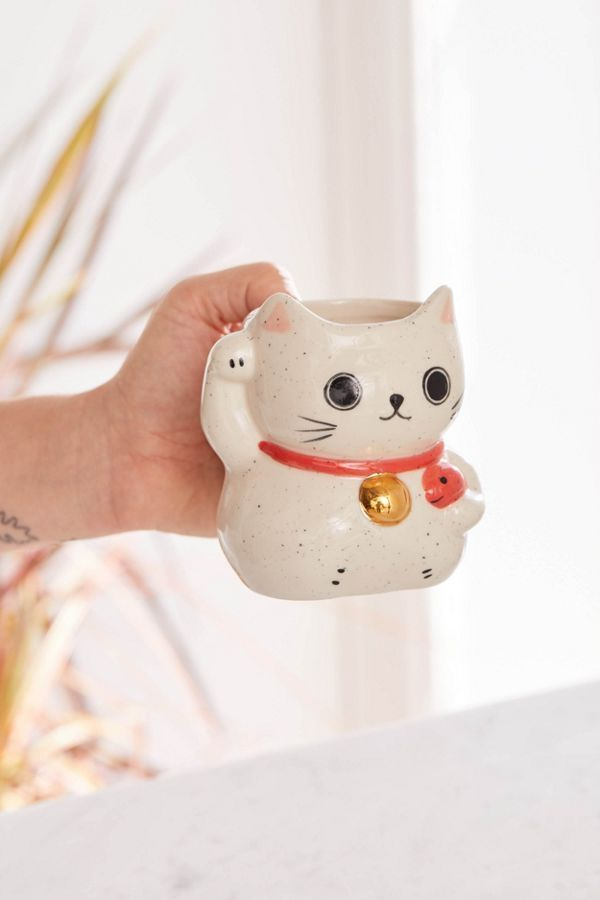 Lucky Cat Shaped Mug