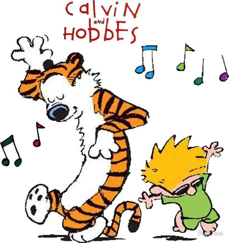 Calvin And Hobbes Dancing Calvin And Hobbes Calvin Y Hobbes Calvin And Hobbes Comics