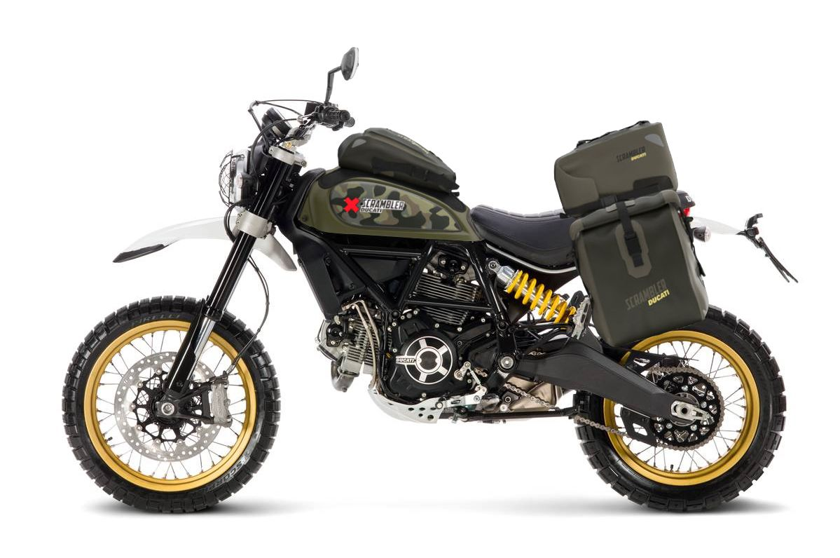 ducati scrambler desert sled world traveler kit ducati. Black Bedroom Furniture Sets. Home Design Ideas
