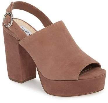 939d918ef51b4 Carter Slingback Platform Sandal | Products | Shoes, Steve madden ...
