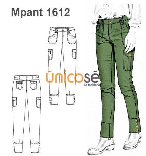 Moldes Unicose Pantalones Cargo Mujer Patron De Pantalones Pantalones