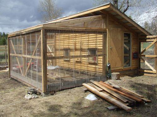 backyard great greenhousechicken coop - Chicken Co Op Plans And Greenhouse
