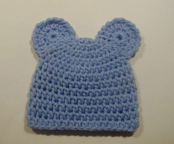 Babymütze Bärenmotiv Mit Ohren Häkeln Zukünftige Projekte
