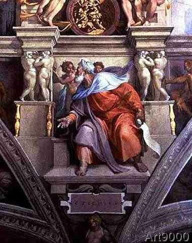 Michelangelo Buonarroti Sistine Chapel Ceiling The