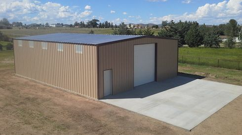 40x50x14 Metal Building Cost Building Costs Metal Buildings Building A House