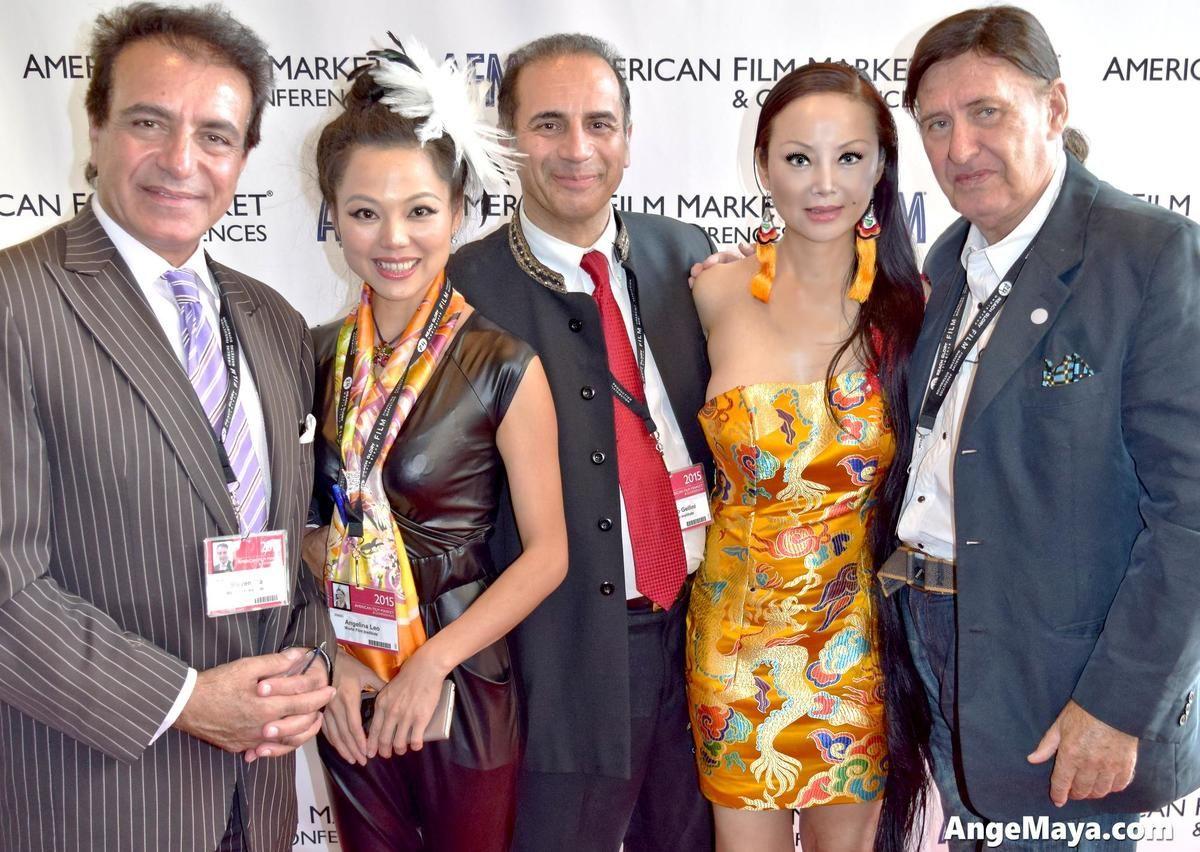 Afm With World Film Institute Antonio Gellini And Steven