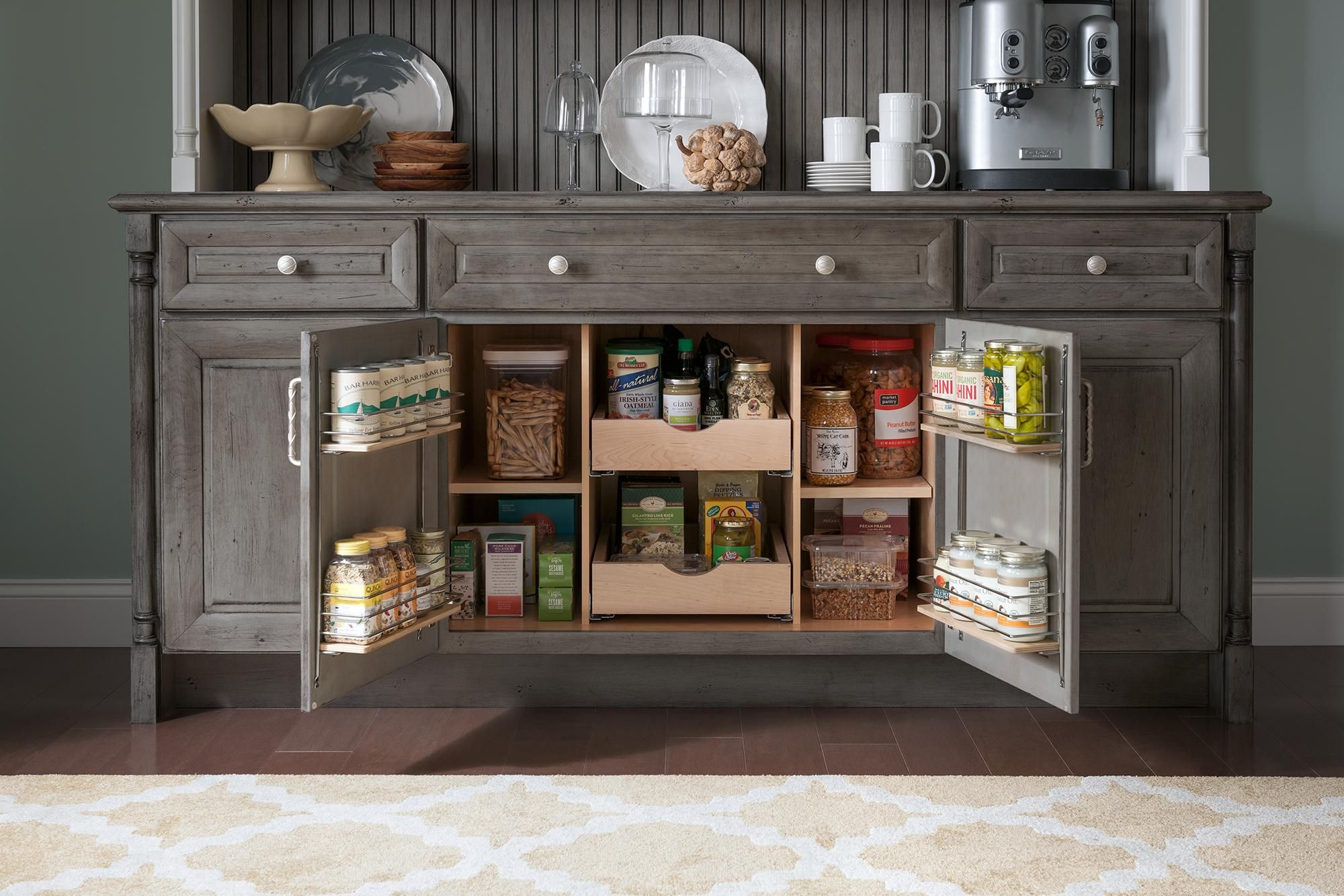 Smart Storage Base Cabinet | Medallion at Menards Cabinets ...