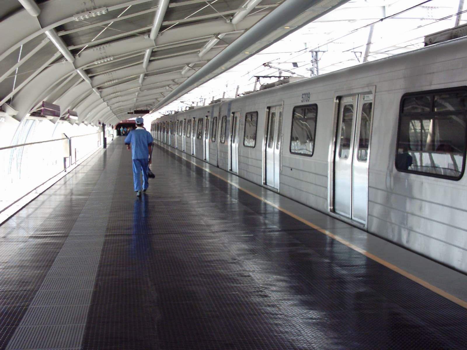 Estação Santo Amaro do Metrô Paulistano