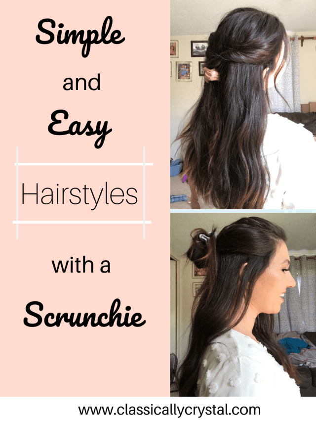 Summer Cute Everyday Hairstyles To Achieve That Vsco Girl Look With Accessories These Scrunchie Hair In 2020 Hair Styles Cute Everyday Hairstyles Scrunchie Hairstyles