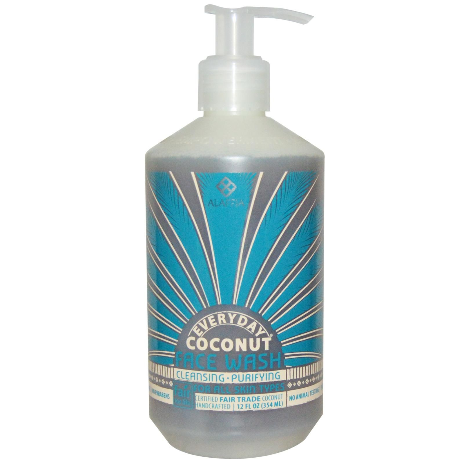 Instant clean feel! Coconut face wash, Face wash