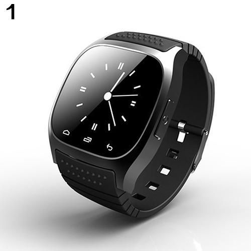 Bluetooth Smart Wrist Watch Pedometer For Ios Android