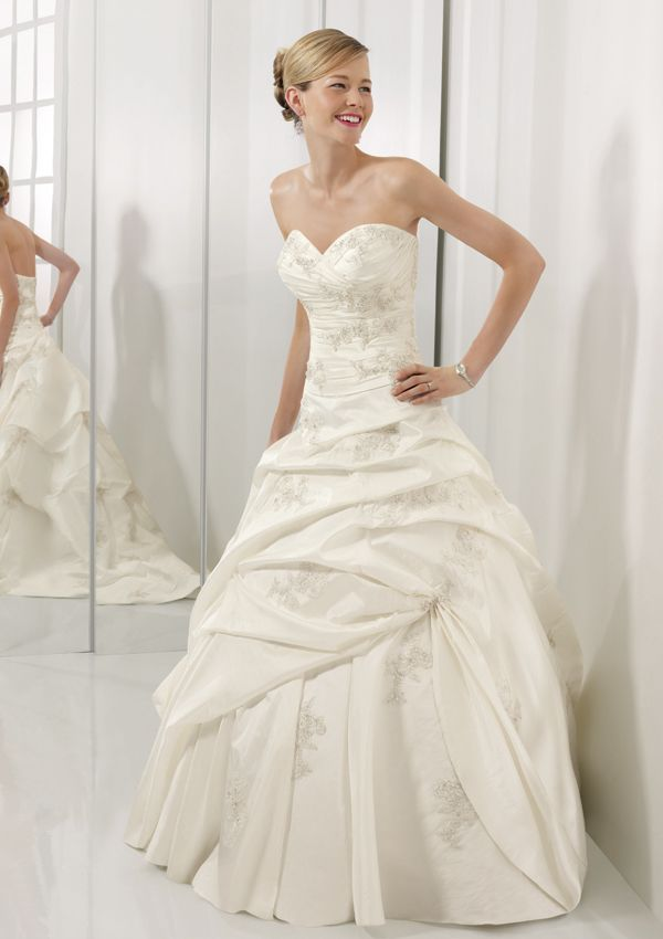 2009 Mori Lee Wedding Dresses Ball Gown with Belt