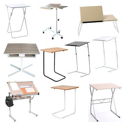 Portable Folding Laptop Desk Computer Drawing Board Table Stand Tray Sofa Bed Desks Computer Furniture Laptop Desk For Bed Computer Furniture Laptop Desk