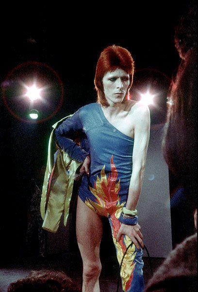 1973 a pensive late period Ziggy Stardust David Bowie's Fashion Evolution