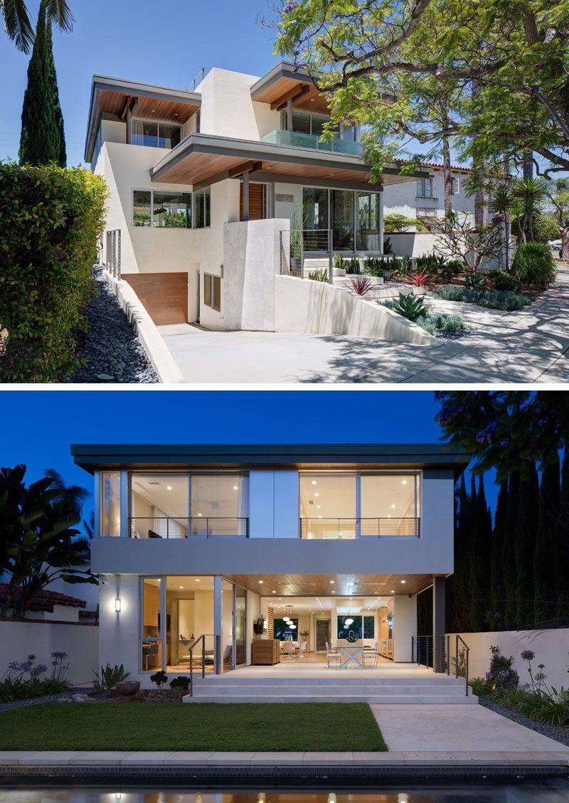Casa moderna con garaje home casas t garajes for Casa moderna con soppalco