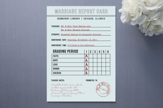 report card invitation ) how clever Thises and thats - report card