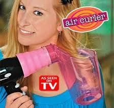 Air Curler As Seen On Tv Is The Revolutionary Hair Dryer Attachment That Creates Luscious Curls In Seconds Simply Attach To Your