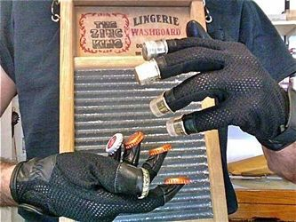washboard gloves musically curious oddities pinterest see more ideas about music instruments. Black Bedroom Furniture Sets. Home Design Ideas
