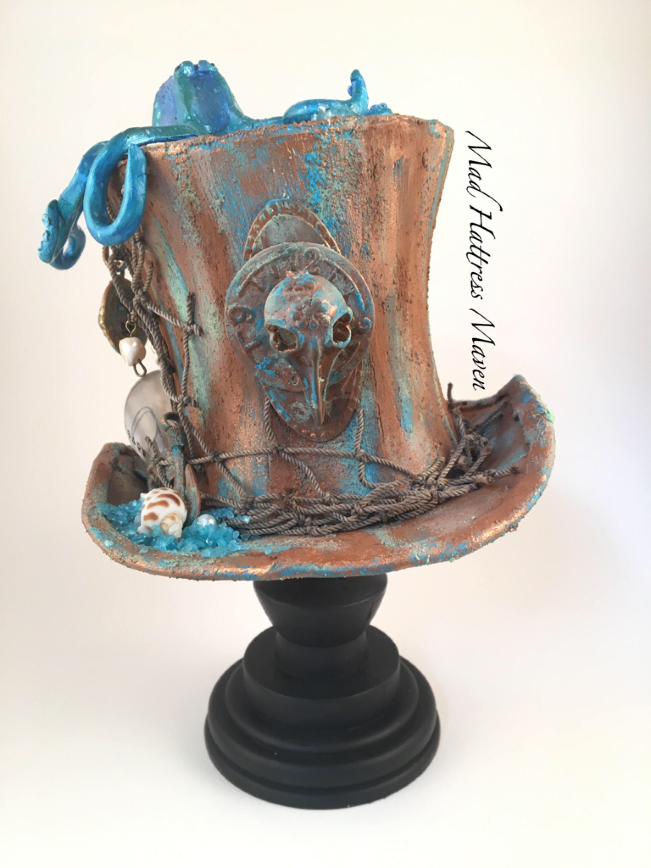 steampunkery polymer clay and mixed media projects