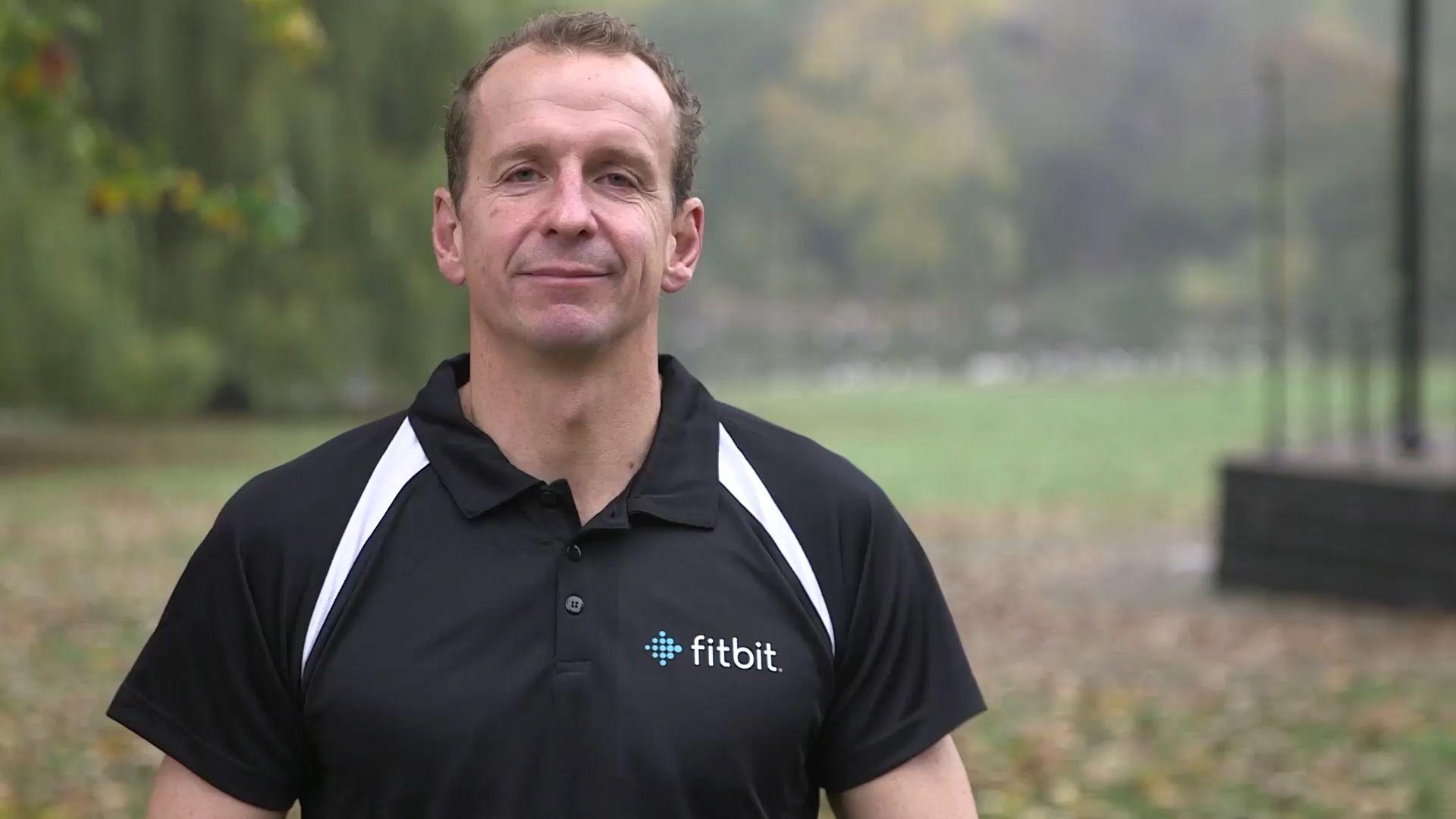 Greg whyte obe fitbit uk ambassador mens polo shirts