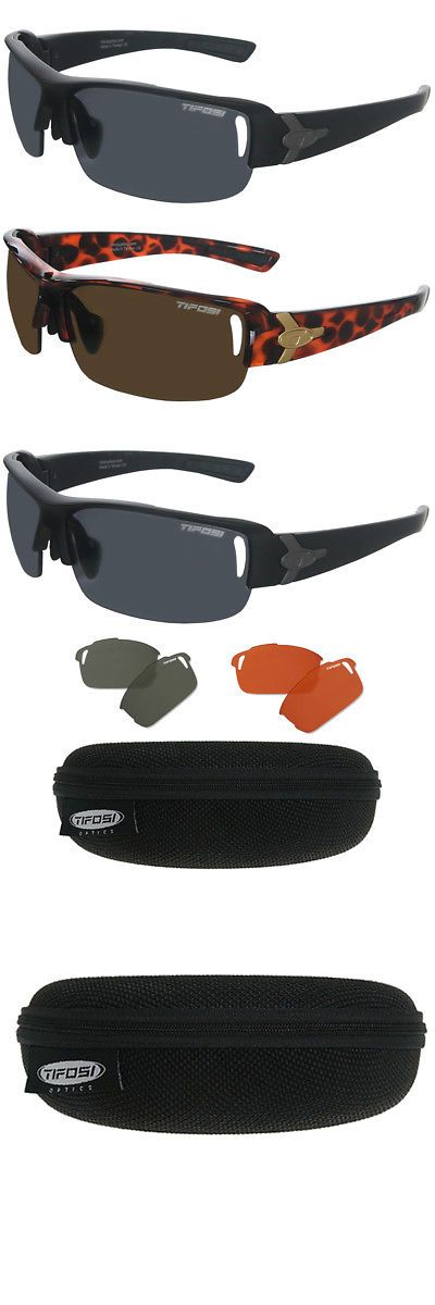 1a2346ee96d Sport Protective Eyewear 158938  Tifosi Optics Slope Sunglasses With 3  Interchangeable Lenses And Case