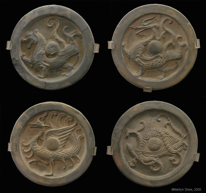 Ming Dynasty Roof Tiles With Zodiac Creatures Sheet Metal Roofing Metal Roof Roof Paint