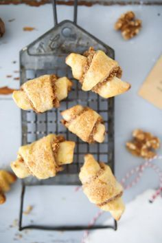 Walnuss Hörnchen Kekse