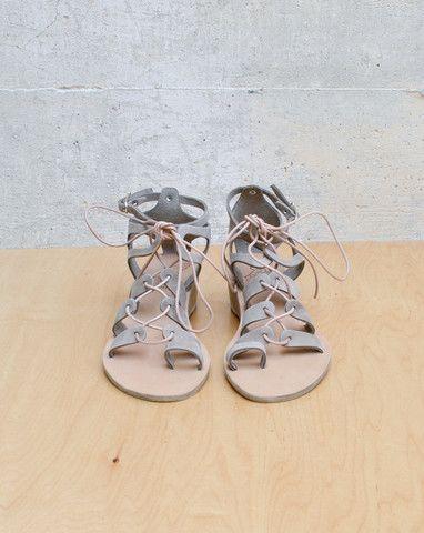kiveli wedge / ancient greek sandals