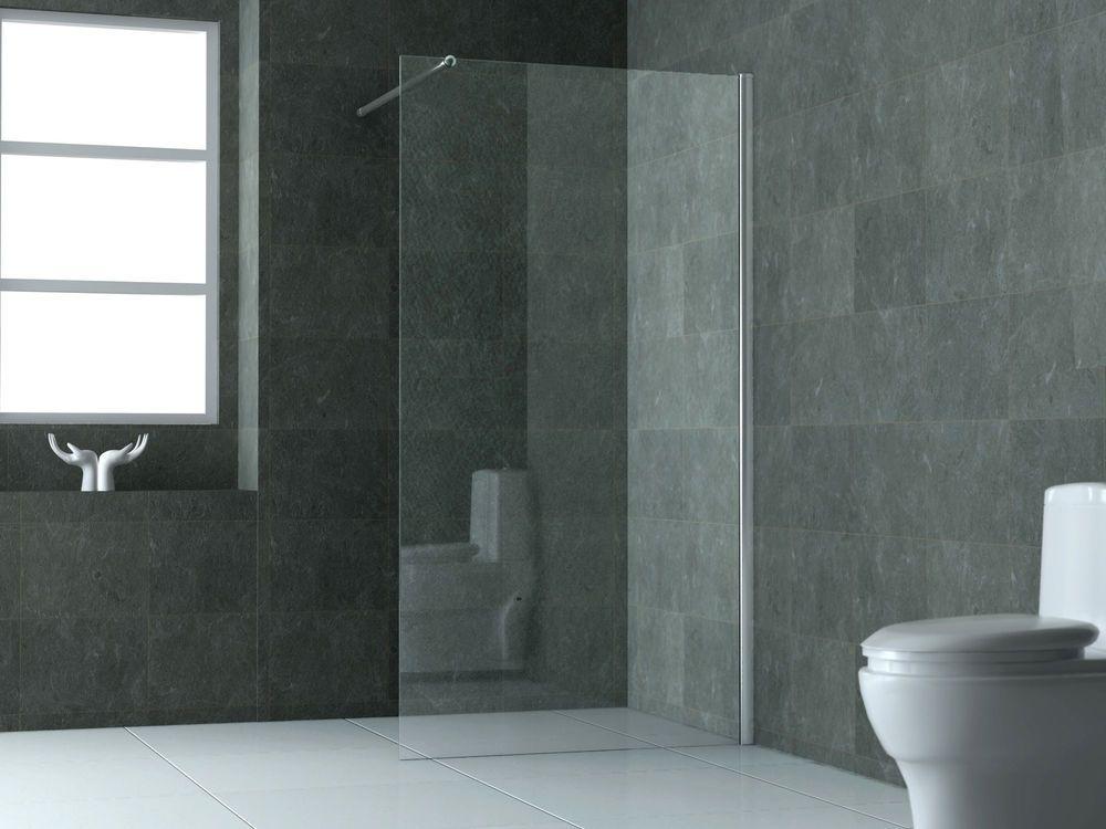 Details zu 100 - 140 x 200 Glas Duschwand Duschkabine