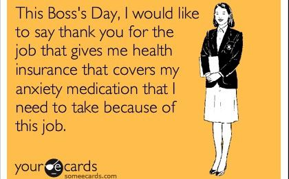 National Boss Day Quotes Funny Happy Boss Day