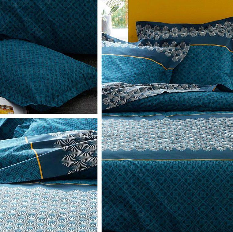 Housse De Couette Bleu Canard 20 Housses Au Top Pour La Deco Avec Images Couette Bleue Housse De Couette Tete De Lit Bleu