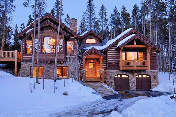 Good Rustic Timber Lodge, Luxury 4 Bedroom Catered Or Self Catered Ski Chalet /  Home Centre Of Breckenridge, Colorado, USA.