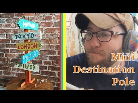 Mini Destination Pole