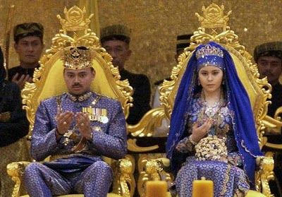 Asian royal wedding, denise richards spray tanning