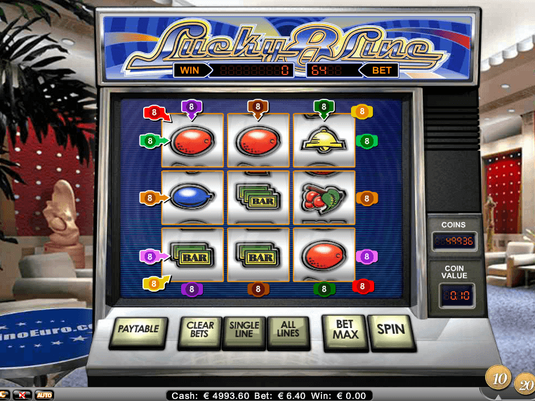 Prüfe unsere Neusten kostenlos online Spielautomaten Spiel Lucky 8-Line - http://freeslots77.com/de/lucky-8-line/