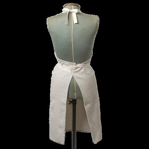 Chevy Apron Fawn Linen Tori Murphy Ltd Cotton Apron Linen Apron