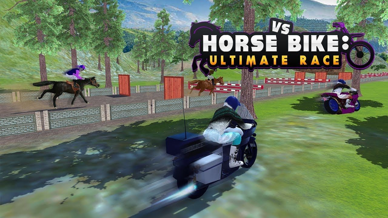 Horse Vs Bike Ultimate Race Racing Horse Race Game Horse