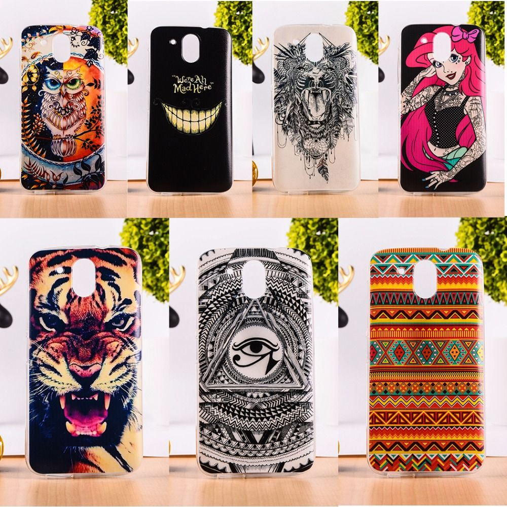 the best attitude be601 36099 Protective Soft TPU Mobile Phone Case For HTC Desire 526 526G 526G+ ...