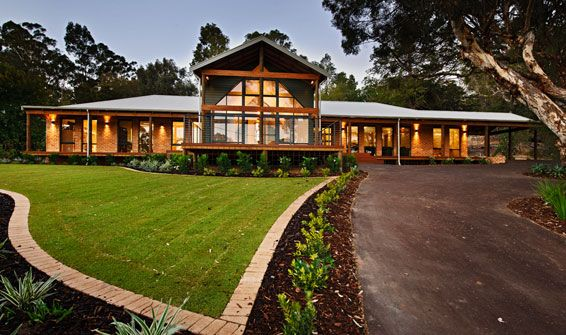 Wa country builders display homes the argyle visit www for Country home designs wa