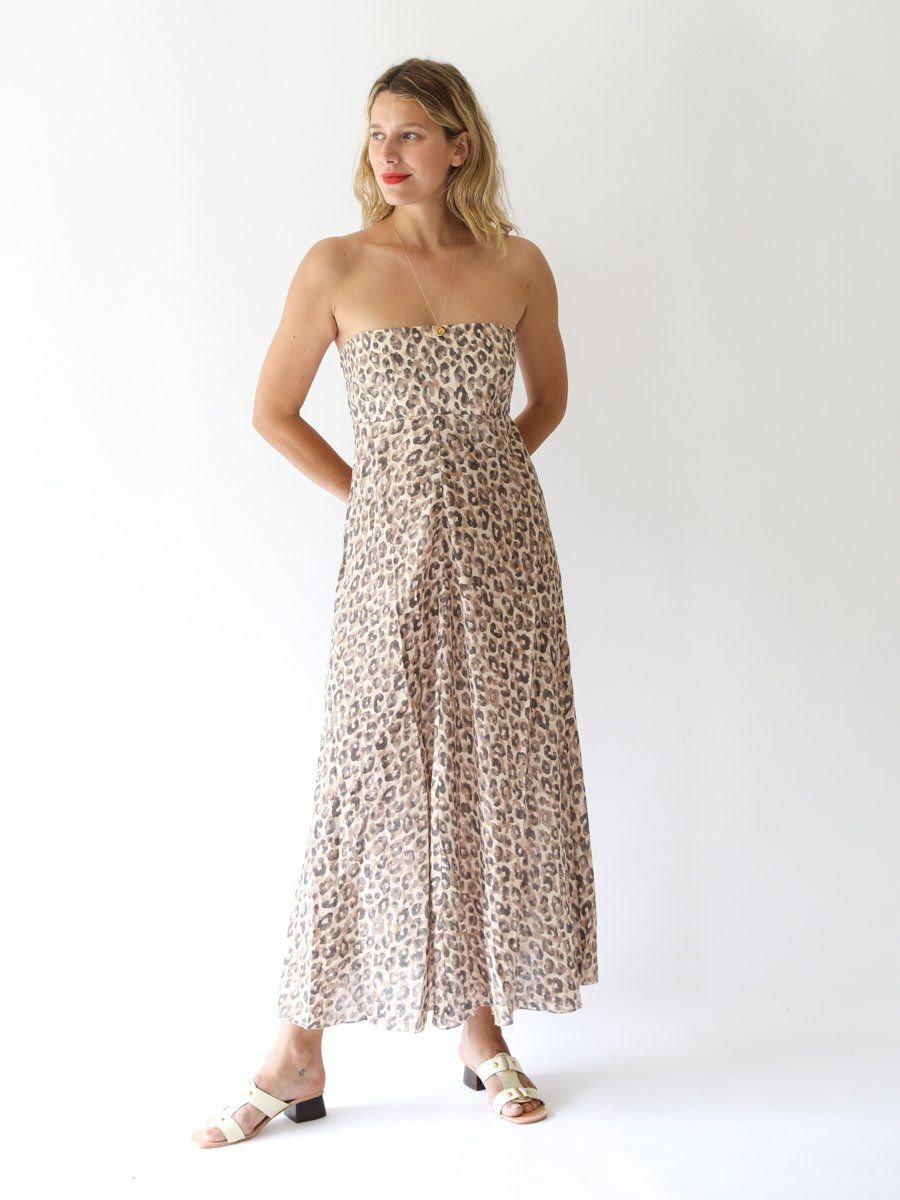 ZIMMERMANN - Melody Strapless Long Dress