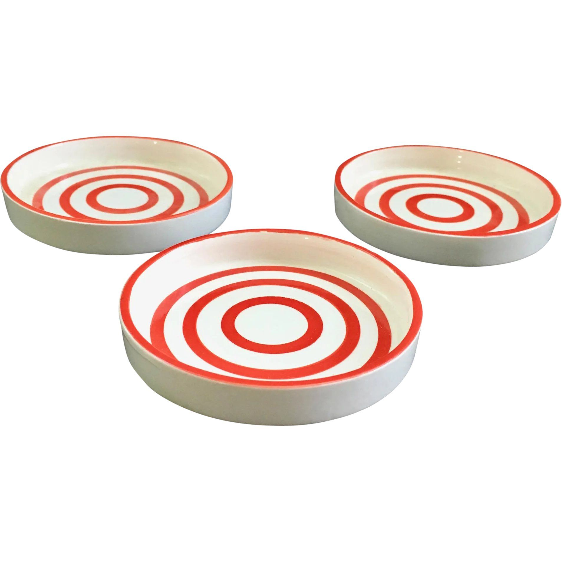 Here Is A Set Of Three Matching Coasters Of The