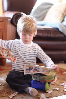 Toddler Time: Tearing Paper