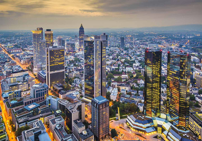 Main Tower Frankfurt Deutschland Immobilien Wolkenkratzer