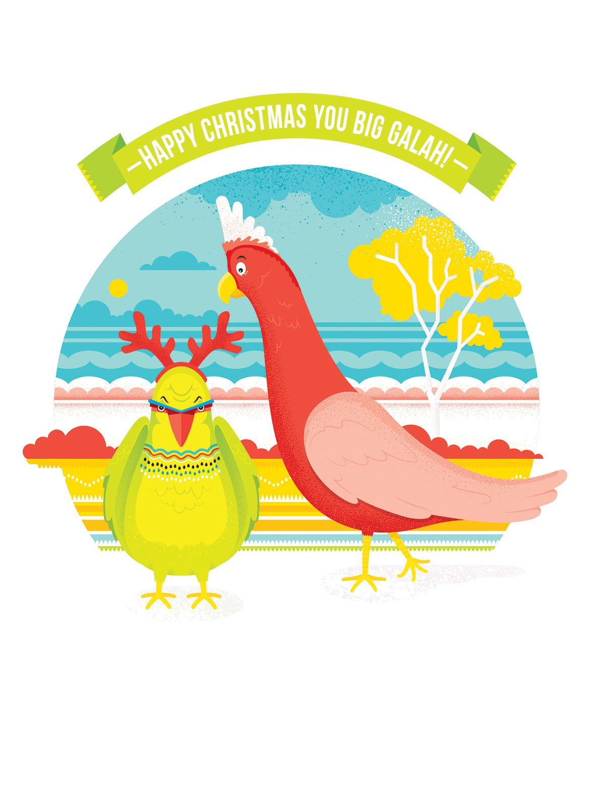 Australiana Christmas cards proudly designed and printed