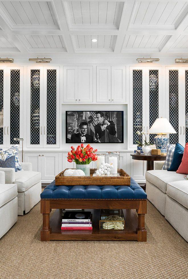 Robert Frank Interiors | Clark Dugger Photography | Marlena Large Table Lamp  By Ralph Lauren Available At Circalighting.com